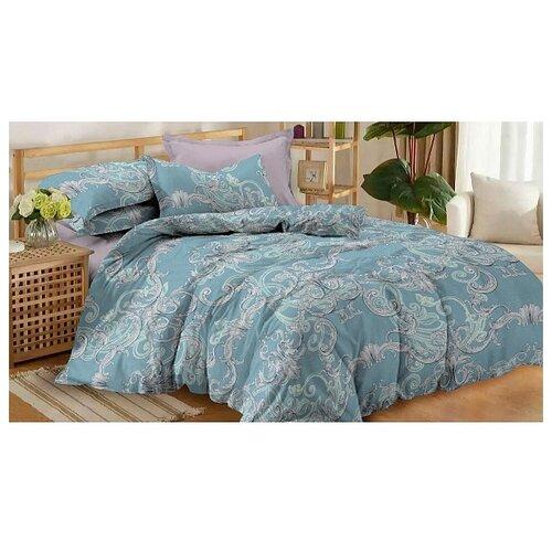 Постельное белье 2-спальное Amore Mio Salsa, поплин, 70 х 70 см бирюзовый bedding set double euro amore mio fiona sky blue