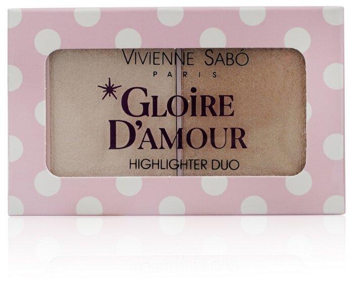 Купить Vivienne Sabo Палетка хайлайтеров Gloire d