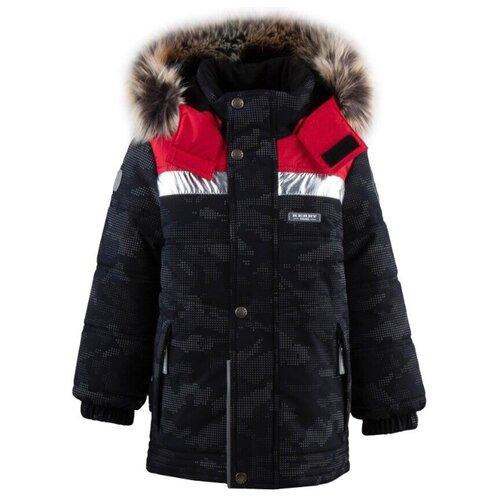 Куртка KERRY Nordic K19442 размер 110, 622 черный/красный куртка eden kerry