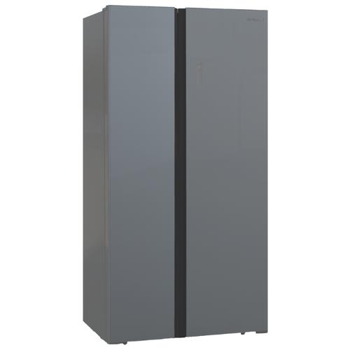 Холодильник Shivaki SBS-574DNFGS shivaki холодильник shivaki shrf 601sdw нержавеющая сталь двухкамерный