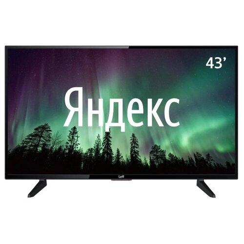 Фото - Телевизор Leff 43F520T 43 (2020) на платформе Яндекса черный телевизор leff 55u610s 55 2020 на платформе яндекса черный