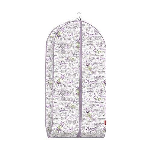 Valiant Чехол для одежды объемный малый 100x60x10 см сиреневый