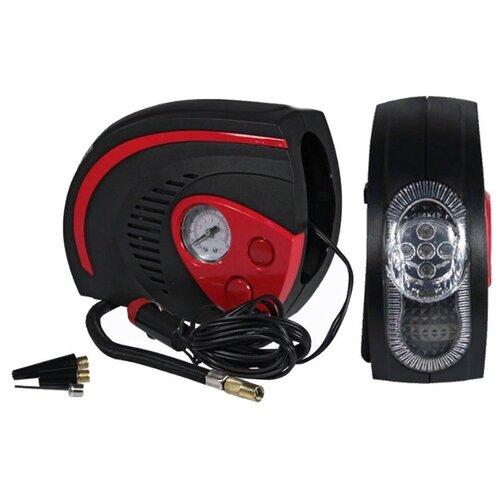 Автомобильный компрессор Nova Bright АК-25 черный/красный