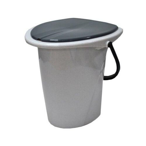 Ведро-туалет InGreen Smart Solution 17 л, 17 л, мраморный