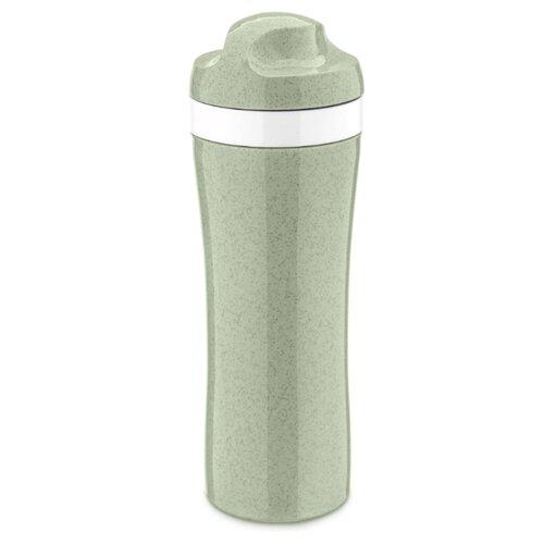 Фото - Бутылка для воды, для безалкогольных напитков Koziol OASE Organic 0.42 пластик зеленый бутылка для воды koziol plopp to go organic 0 42 пластик синий