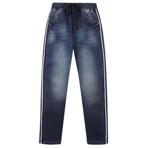 Джинсы playToday размер 122, синий джинсы playtoday playtoday mp002xb00a99