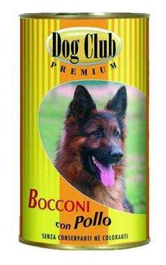 Корм для собак Dog Club Bocconi курица 400г