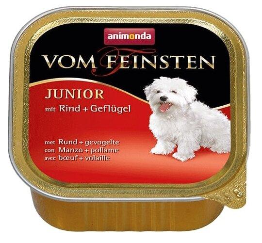 Корм для щенков Animonda Vom Feinsten говядина, курица 150г