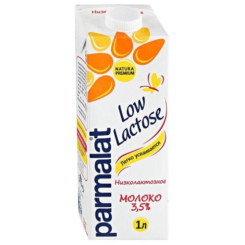 Молоко Parmalat Natura Premium Low Lactose ультрапастеризованное низколактозное 3.5%, 1 л фото