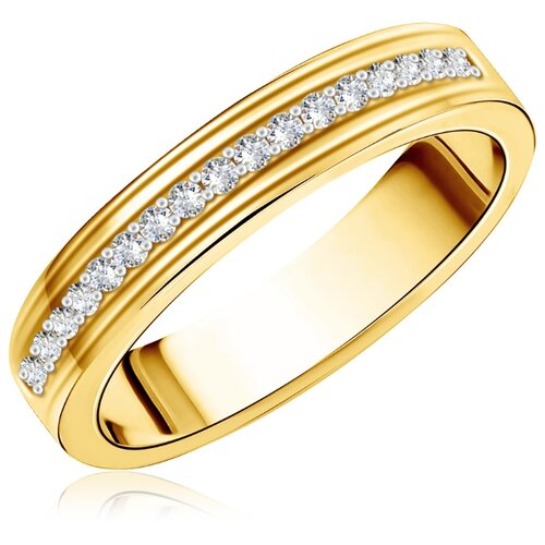 Бронницкий Ювелир Кольцо из желтого золота L5119647, размер 20 бронницкий ювелир кольцо из желтого золота 55020541 размер 20