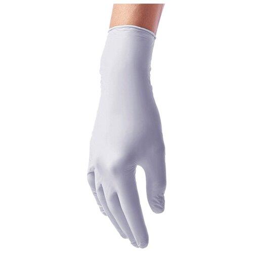 Перчатки Benovy виниловые одноразовые, 50 пар, размер M, цвет лавандовый