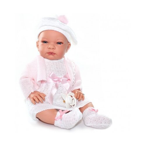 Пупс Lamagik Дженни в белом платье и берете, 40 см, 50512FC