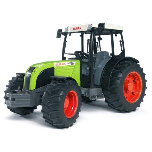 Купить Трактор Bruder Claas Nectis 267 F (02-110) 1:16 25.2 см черный/зеленый/белый, Машинки и техника