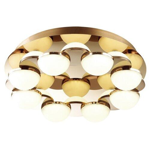 люстра потолочная светодиодная odeon light saturno 114 вт хром Потолочная светодиодная люстра Odeon Light Conti 4105/64CL