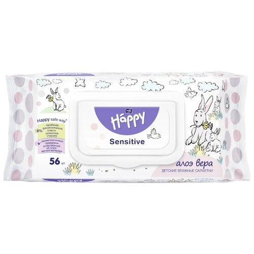 цены Влажные салфетки Bella Baby happy Sensitive 56 шт.