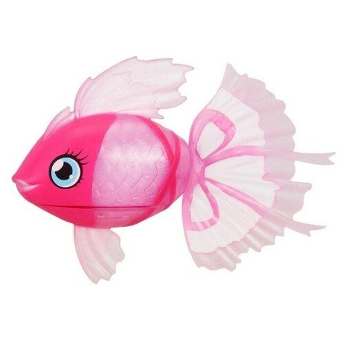 Купить Moose Little Live Pets Волшебная рыбка Lil' Dippers розовая 26159, Роботы и трансформеры