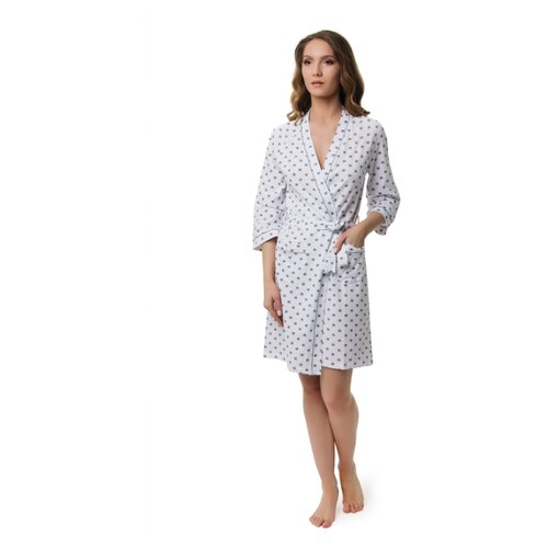 Халат Evelena размер XS белый платье oodji ultra цвет красный белый 14001071 13 46148 4512s размер xs 42 170
