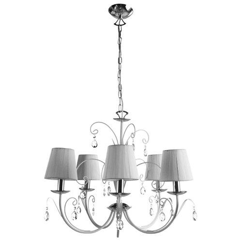 Люстра Arte Lamp Romana Snow A1743LM-5WH, E14, 200 Вт люстра arte lamp gracia a1528lm 5wh e14 200 вт