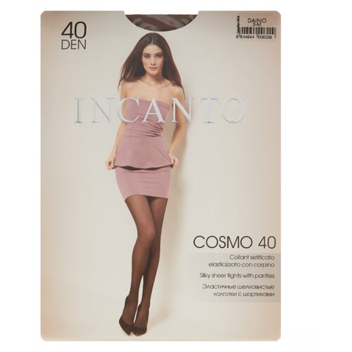 цена Колготки Incanto Cosmo 40 den, размер 3, daino (бежевый) онлайн в 2017 году