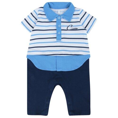 Купить Комбинезон Leader Kids размер 68, синий/голубой, Комбинезоны