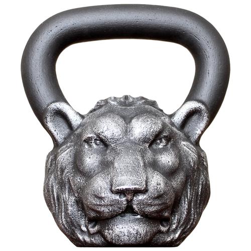 Гиря цельнолитая Iron Head Лев 24 кг