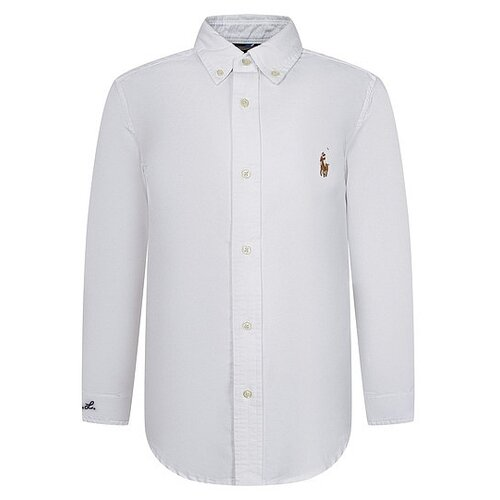 Рубашка Ralph Lauren размер 128, белый