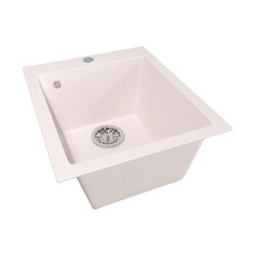 Врезная кухонная мойка 42 см Mixline ML-GM14 светло-розовая 311 врезная кухонная мойка 42 см mixline ml gm14 бежевая 328
