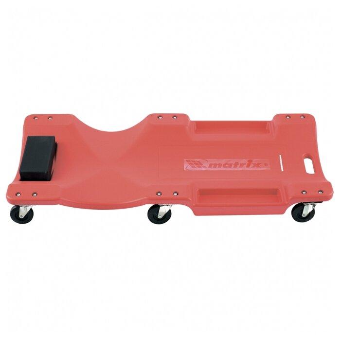 Лежак ремонтный (на колесах, закатываться под днище) matrix 567485