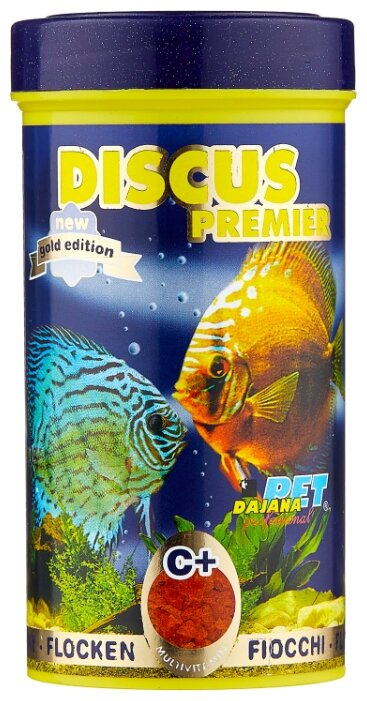 Сухой корм Dajana Pet Discus Premier