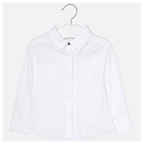 Блузка Mayoral размер 122, белый