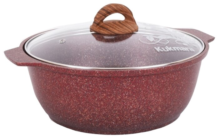 Кастрюля-жаровня Kukmara Granit ultra жга41а 4 л
