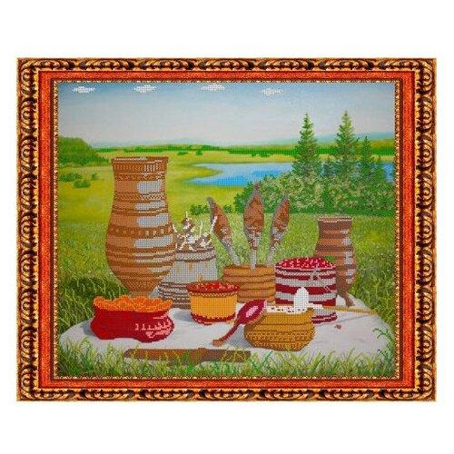 Светлица Набор для вышивания бисером Дары севера 47,1 x 35,5 см (085)Наборы для вышивания<br>