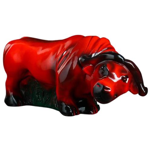 Копилка Хорошие сувениры Буйвол, гипс (4707206) красный