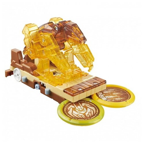 Купить Трансформер РОСМЭН Дикие Скричеры. Линейка 5. Сэндсторм Тайд (37754) золотой, Роботы и трансформеры