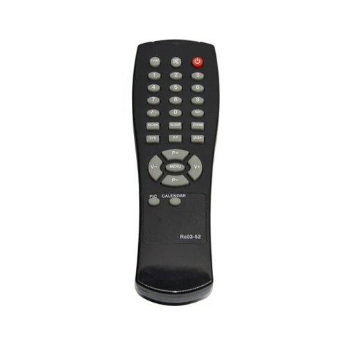 Пульт ДУ Huayu RC03-52 для телевизоров Supra VR CT-14CNGS/CTV-21011N/CTV-14018/CTV-21015S/CTV-21022P/TV-21018S черный