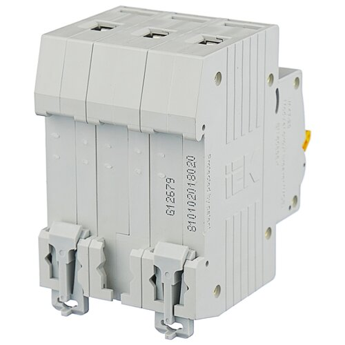 Автоматический выключатель IEK ВА 47-29 3P (C) 4,5kA 20 А автомат iek 3п c 40а ва 47 100