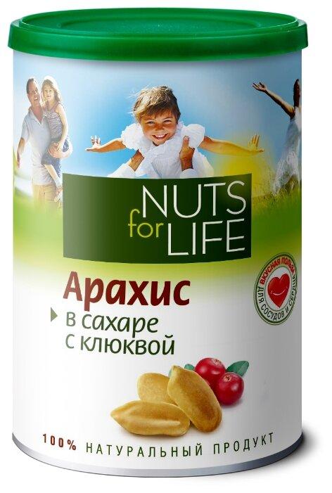 Арахис в сахаре с клюквой - Nuts for life
