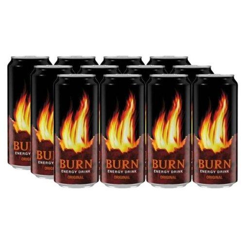 Энергетический напиток Burn Original, 0.449 л, 12 шт.