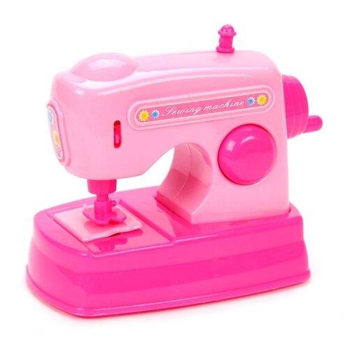 Купить Швейная машина Shantou Gepai Mini Household 3521-4 розовый, Детские кухни и бытовая техника