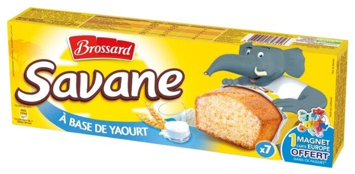 Кекс Brossard Savane с йогуртом (7 шт.)