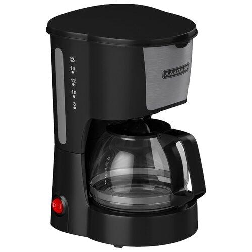 Кофеварка Ладомир АЕ109 черный цена 2017