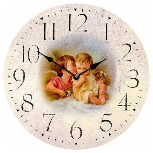 Часы настенные кварцевые Идеал Секретики бежевый виши идеал солей 30