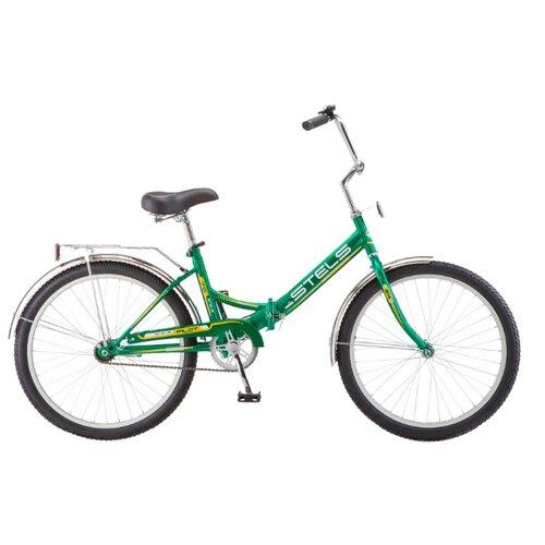 Фото - Городской велосипед STELS Pilot 710 24 Z010 (2019) зеленый/желтый 16 (требует финальной сборки) городской велосипед stels navigator 300 lady 28 z010 2018 фиолетовый 20 требует финальной сборки