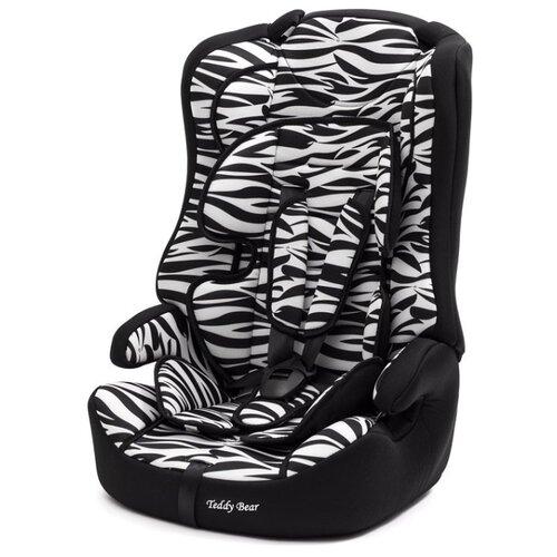 Купить Автокресло группа 1/2/3 (9-36 кг) Мишутка LB 513RF, zebra, Автокресла
