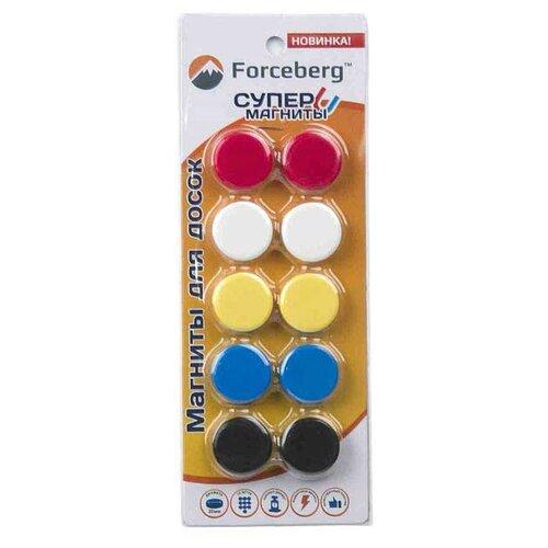 Магниты для доски Forceberg 9-3612-010 мультиколор