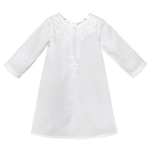 Фото - Рубашка Золотой Гусь размер 62-68, белый золотой гусь комплект зая зай 3 предмета розовый