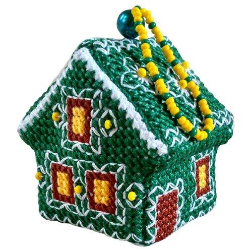 Купить ZENGANA Набор для вышивания бисером и нитками Крыжовник 5 х 4 см (М-069), Наборы для вышивания