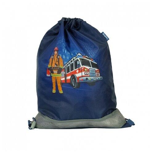 MagTaller Мешок для обуви Firefighter (31216-31) синий, Мешки для обуви и формы  - купить со скидкой