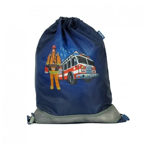 Mag Taller Мешок для обуви Firefighter (31216-31) синий mag taller рюкзак zoom flowers разноцветный
