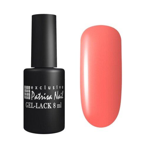 Гель-лак для ногтей Patrisa Nail Pina Colada, 8 мл, 119 темный неоновый коралл